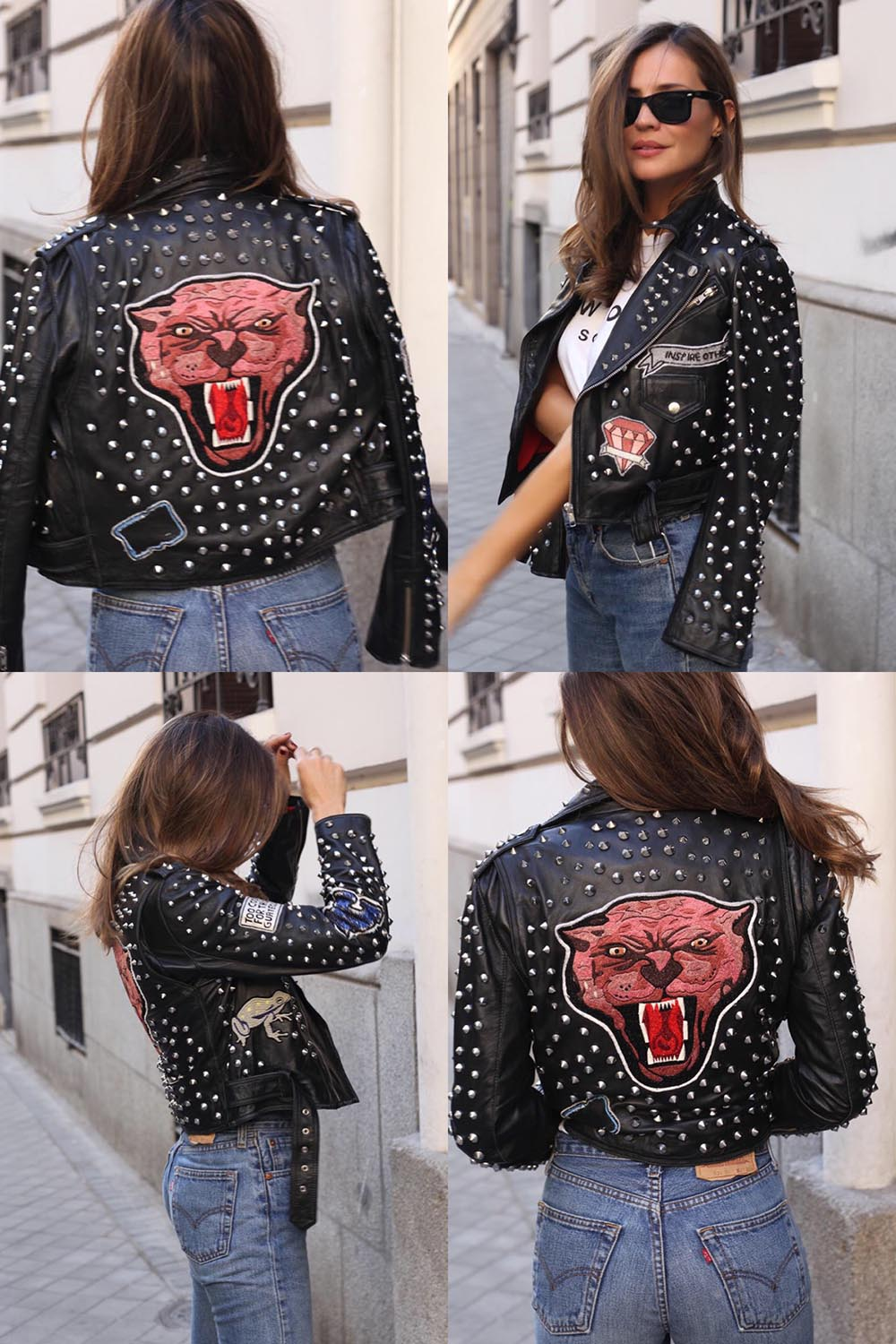 studded perfecto jacket
