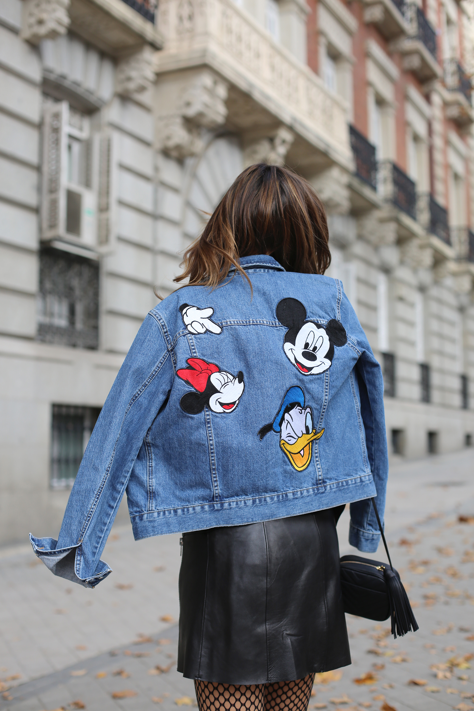 Mickey Mouse denim