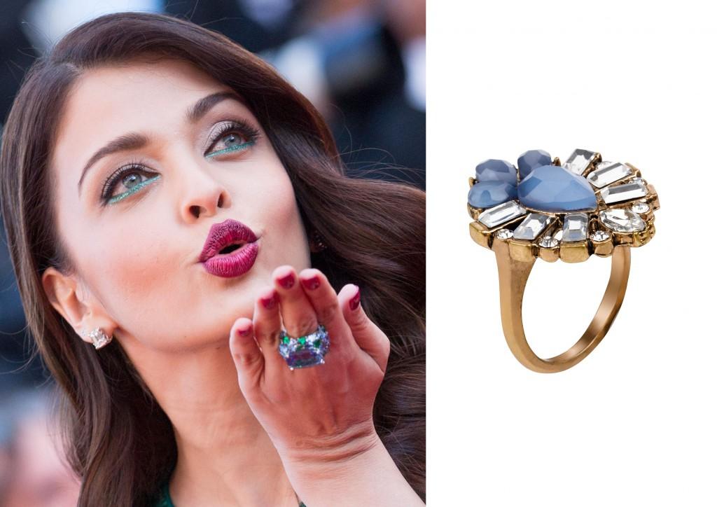 Aishwarya Rai anillo joya