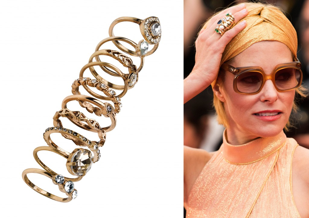 Parker Posey anillos