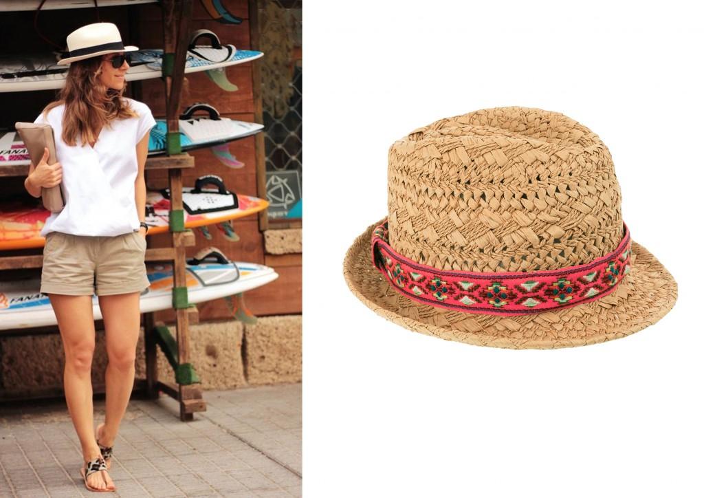 sombrero paja accessorize
