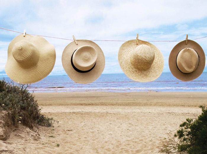 sombreros playa verano 2015