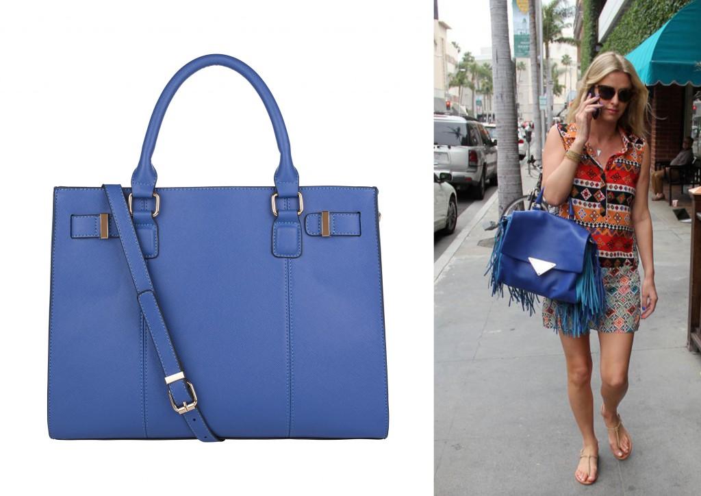 bolso azul accessorize