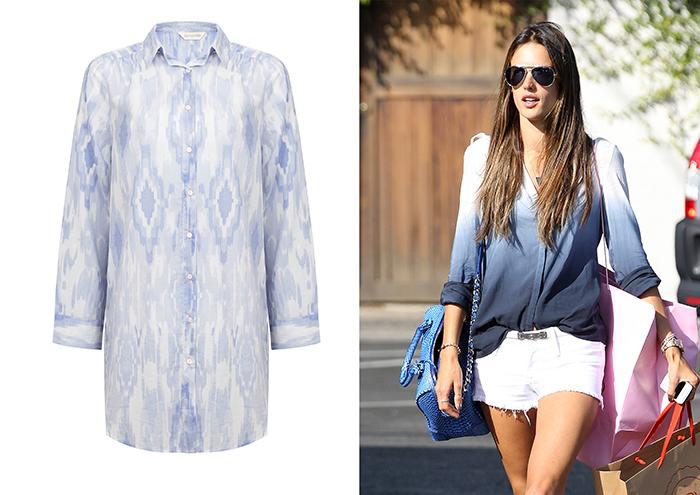Camisa azules accessorize