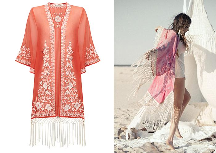 kimono rosa accessorize