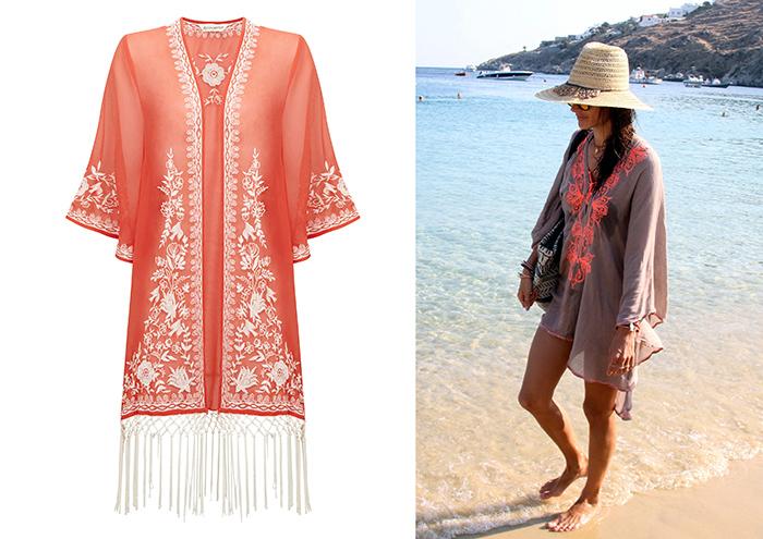 Kimono Alessandra Ambrosio