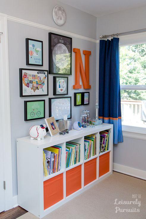 4 ideas para decorar tus paredes con letras y letreros for Bedroom 7 year old boy
