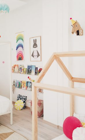 Una habitación montessori para dos