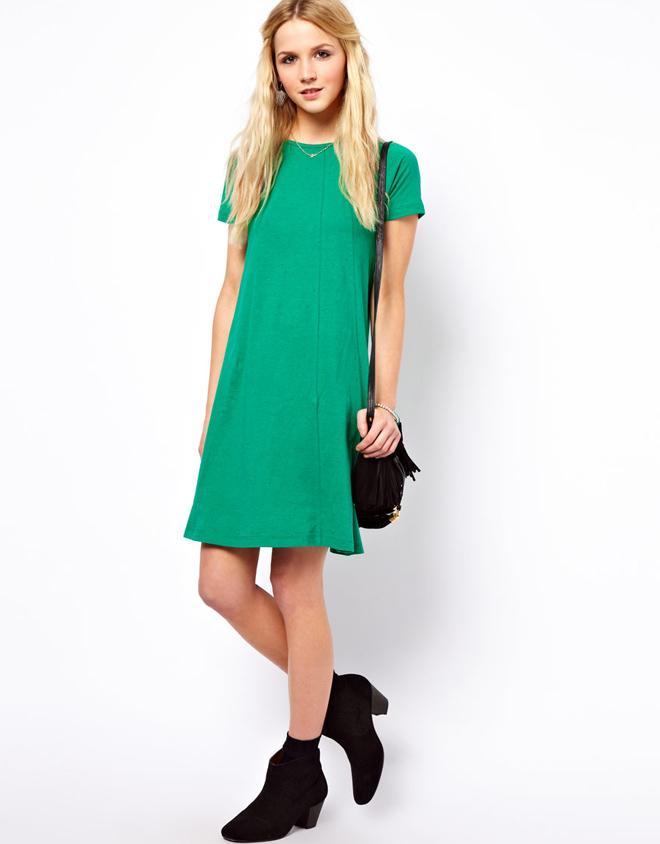 c430a45ab Vestidos casuales en verde – Vestidos de noche