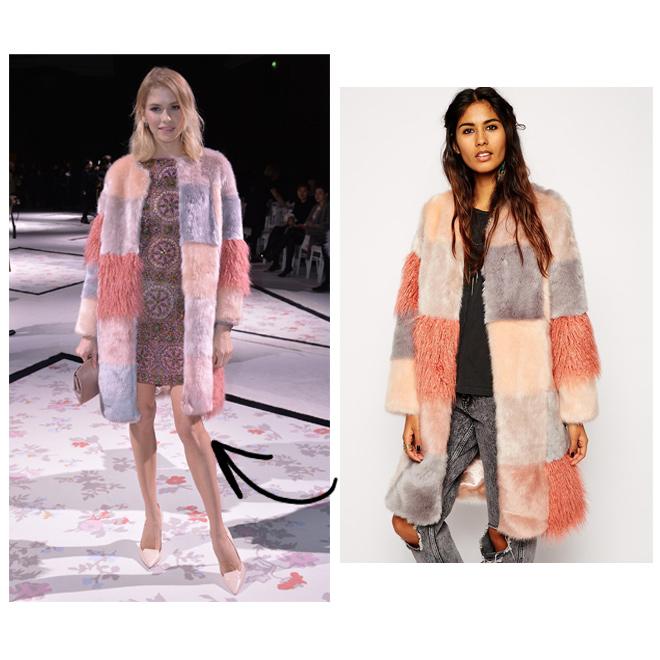 Consigue el abrigo de Lena Perminova- Asos-1469-asos