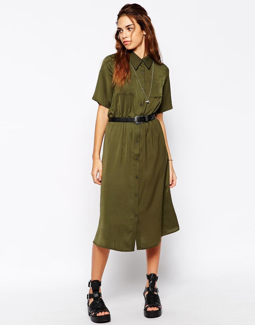 asos-marca-glamourous-vestido-midi-militar
