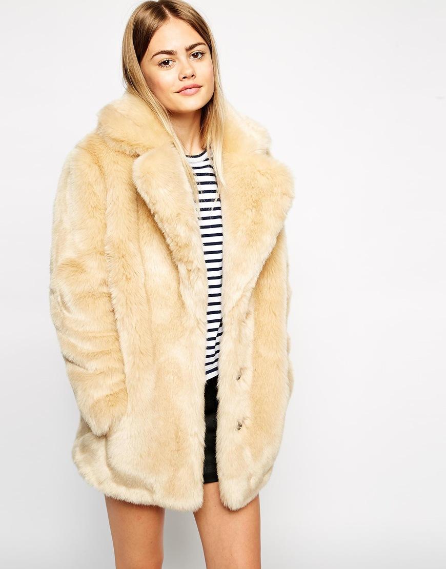 nuevo concepto 74335 2d550 Hazte con un abrigo de pelo - Asos Sin categoría - Asos ...