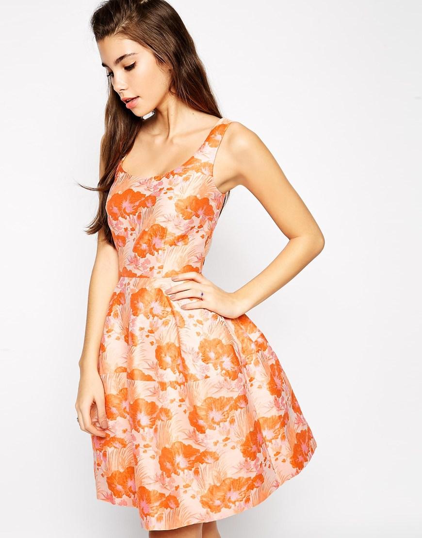 asos-primavera_2015-bodas-vestido_naranja