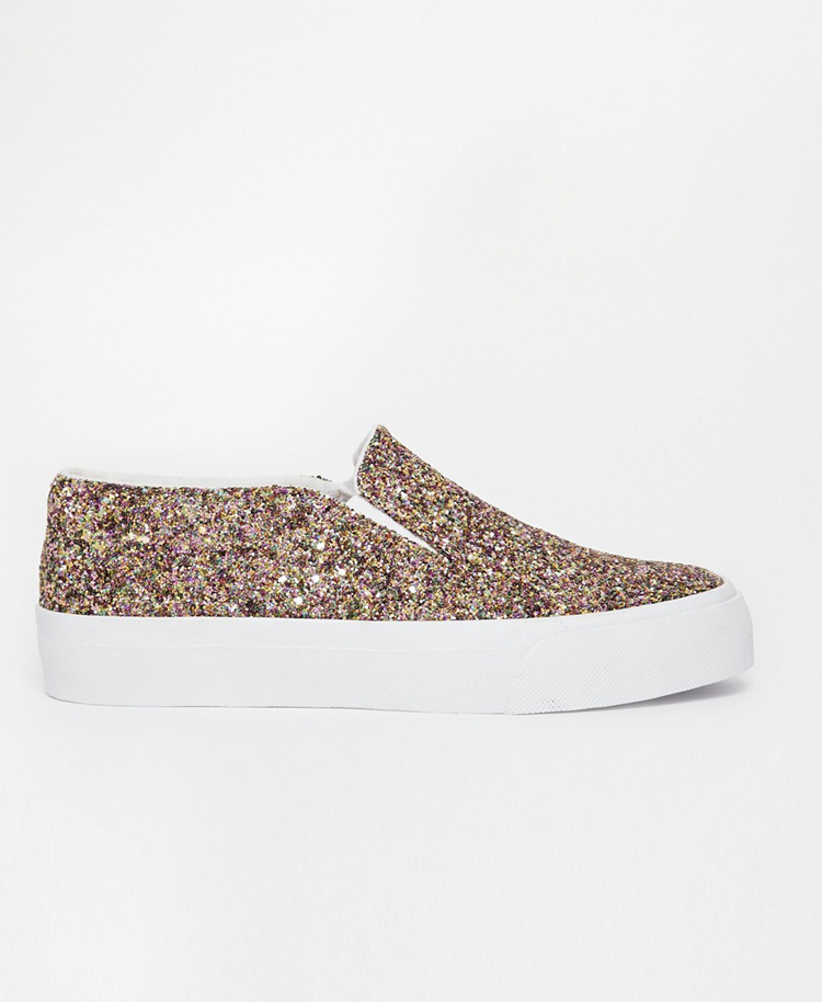 Zapatillas glitter Asos