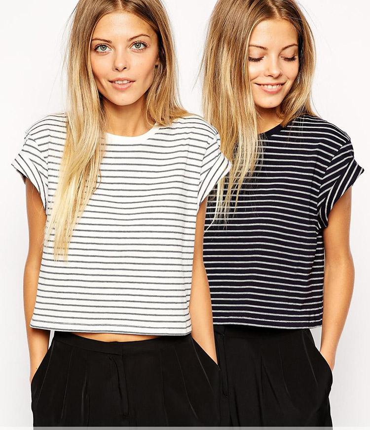 camiseta marinera de asos