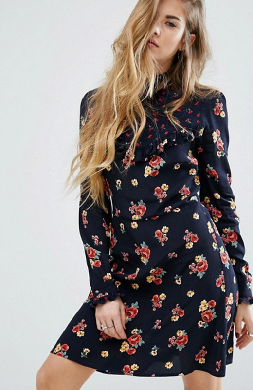 ASOS Vestidos invierno flores