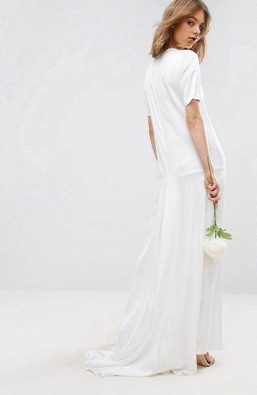 asos - los mejores vestidos de novia low cost - stylelovely