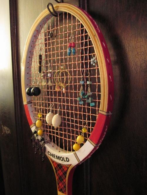 raqueta-vintage-organizador-pendientes