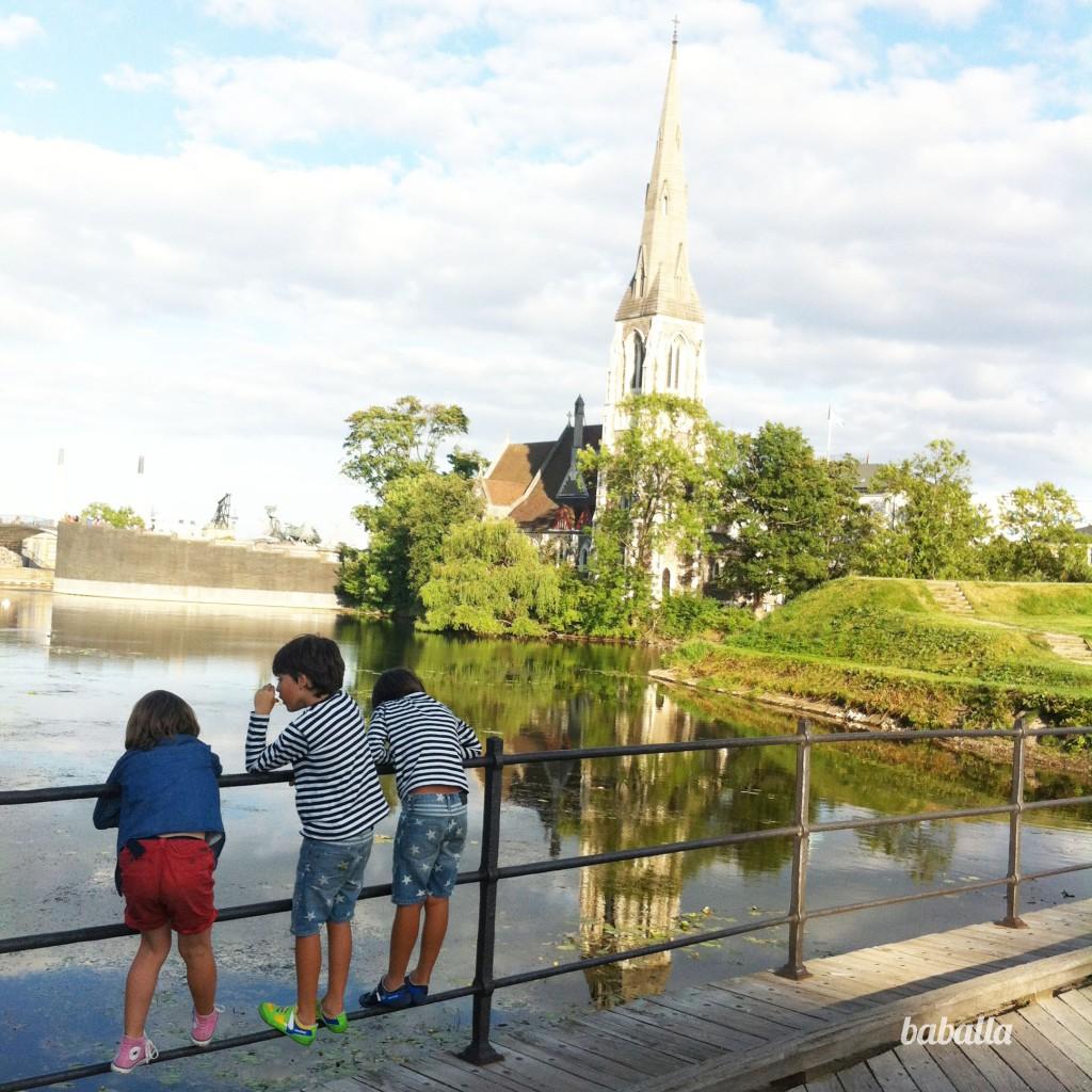 jardines_sirenita Copenhague con niños baballa