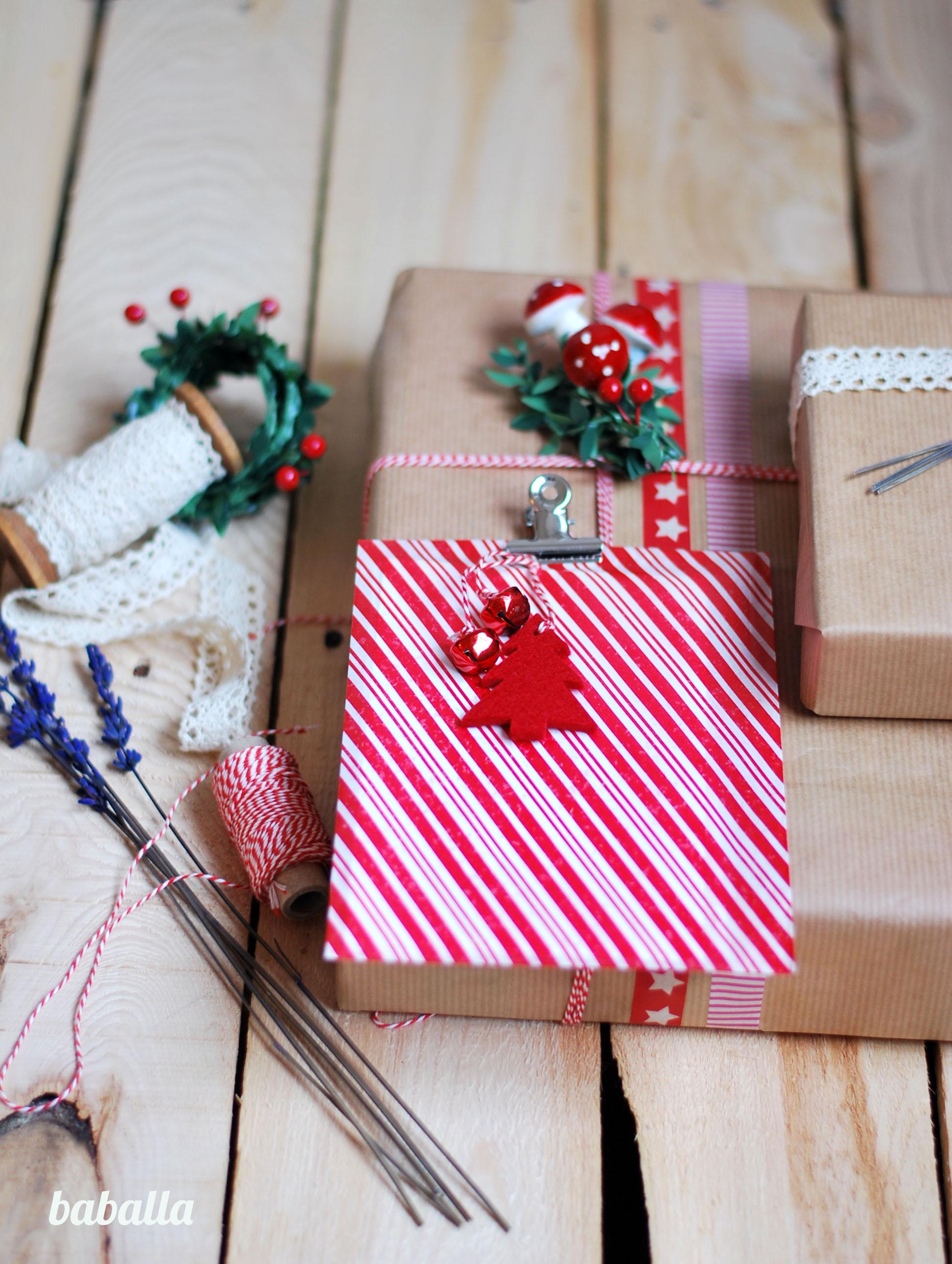 empaquetar regalos de navidad de forma original empaquetar