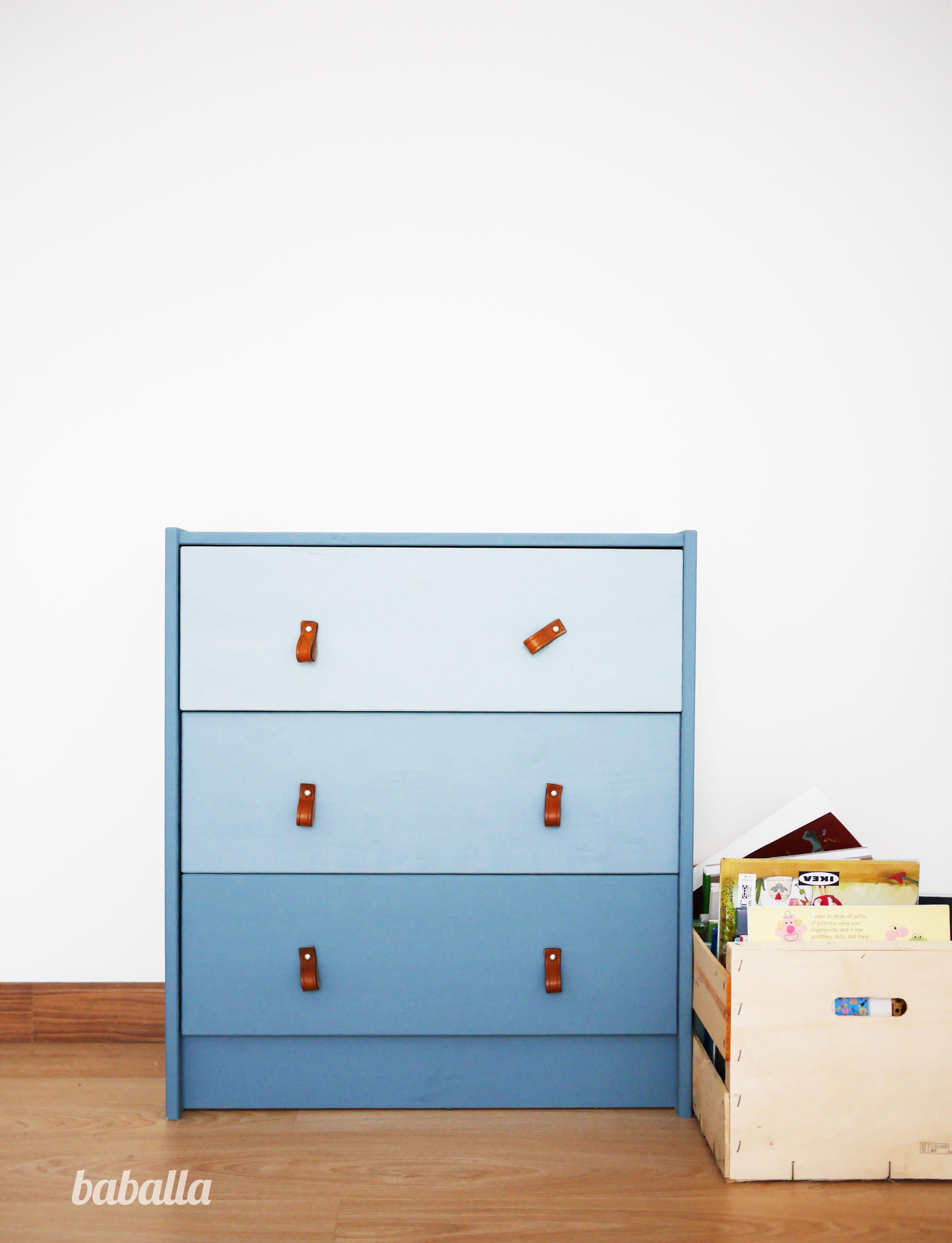 C moda rast ikea tuneada deco ikea quiero una casa for Chalk paint muebles ikea
