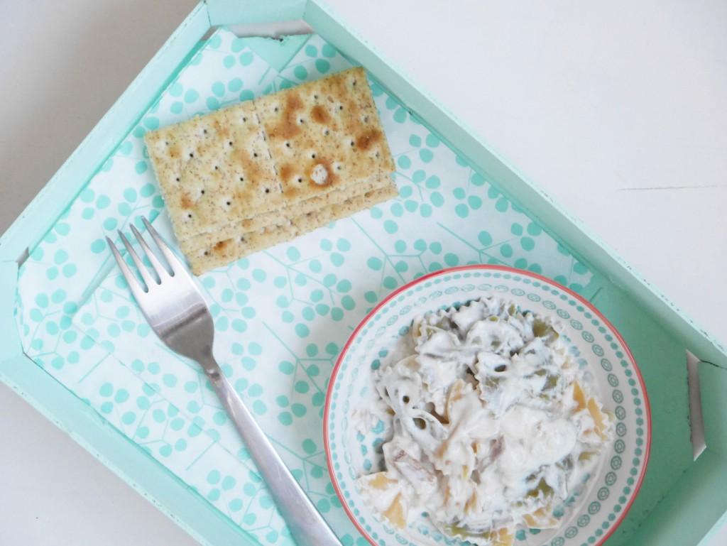 farfalle a la crema de queso2