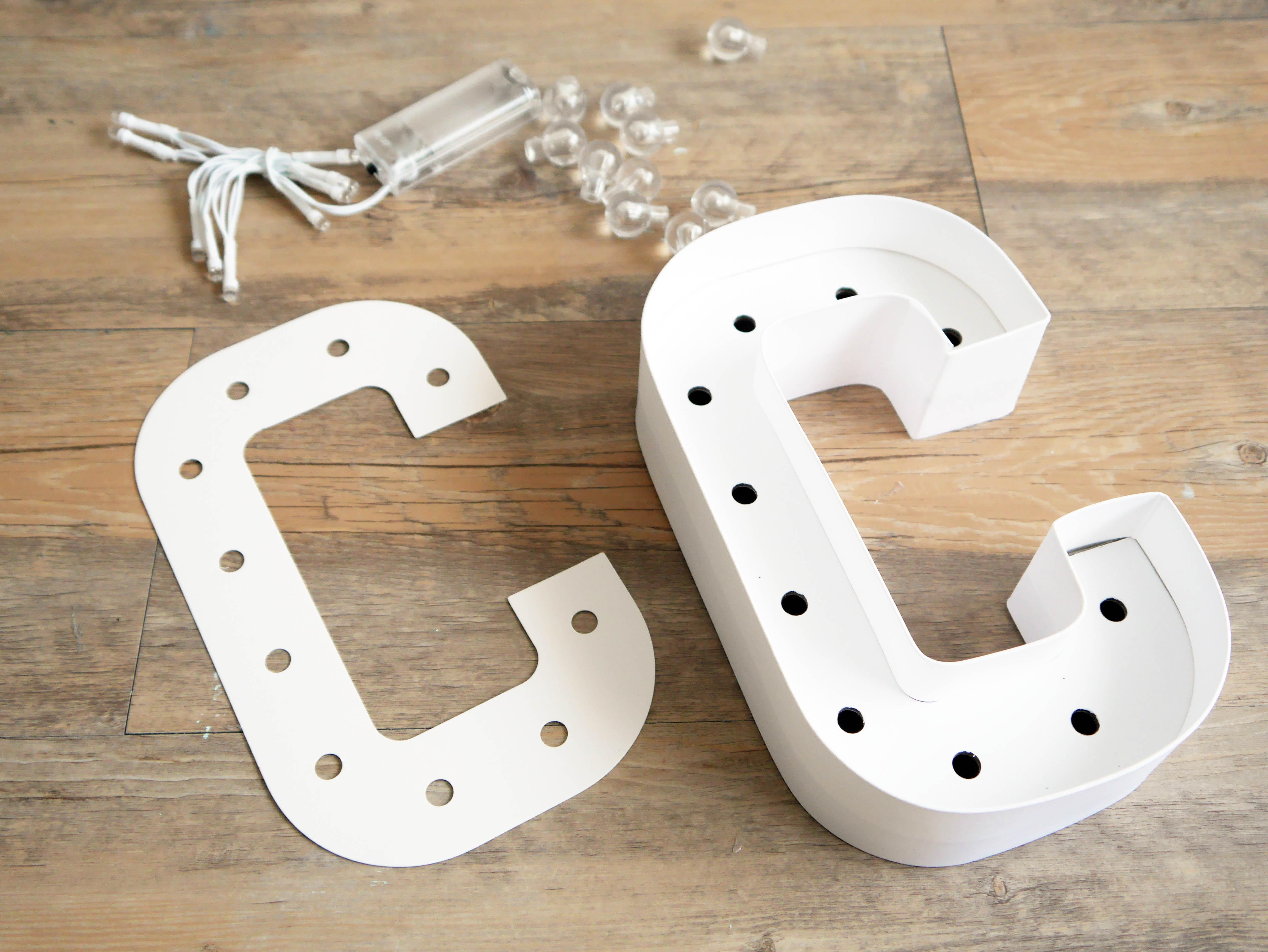 diy c mo hacer letras luminosas de forma sencilla diy