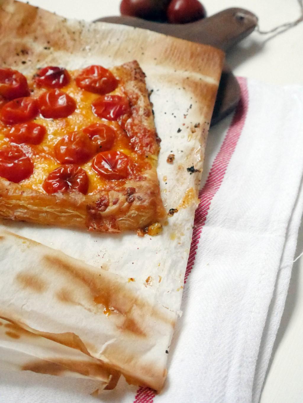 tartaletas de tomates cherry