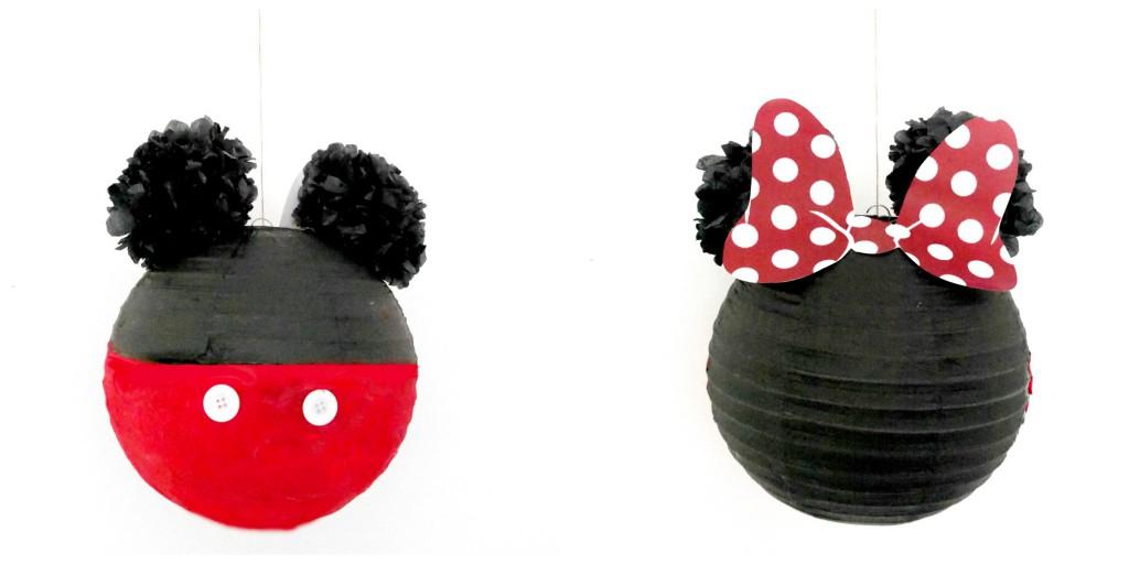 piñatas casera  Mickey mouse
