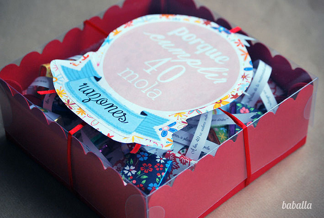 regalo de 40 cumpleaños