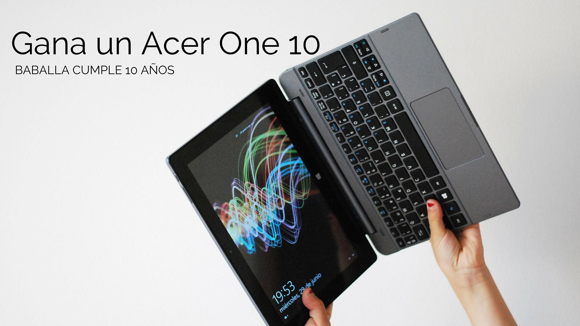 Gana un Acer One10