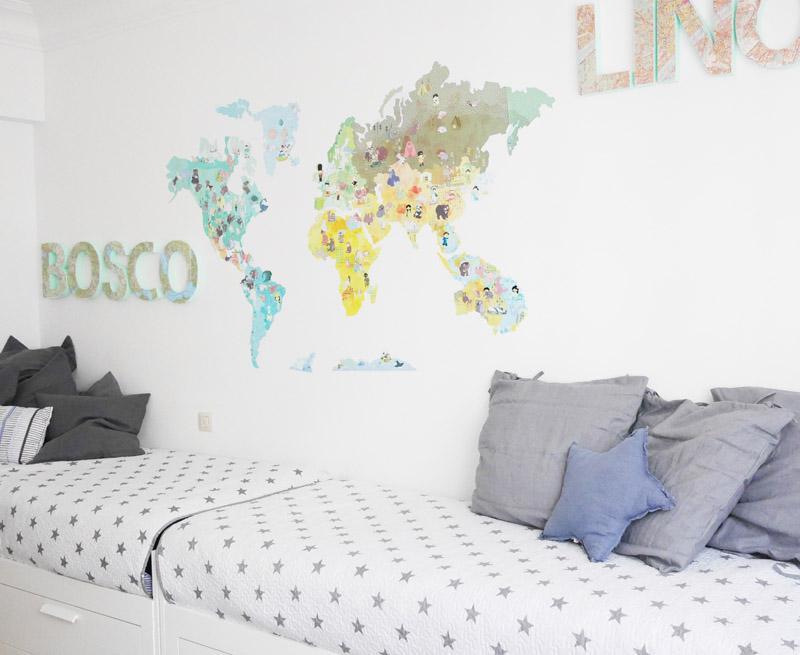 Ideas para decorar una habitaci n de ni os deco quiero - Decorar habitacion ninos ...