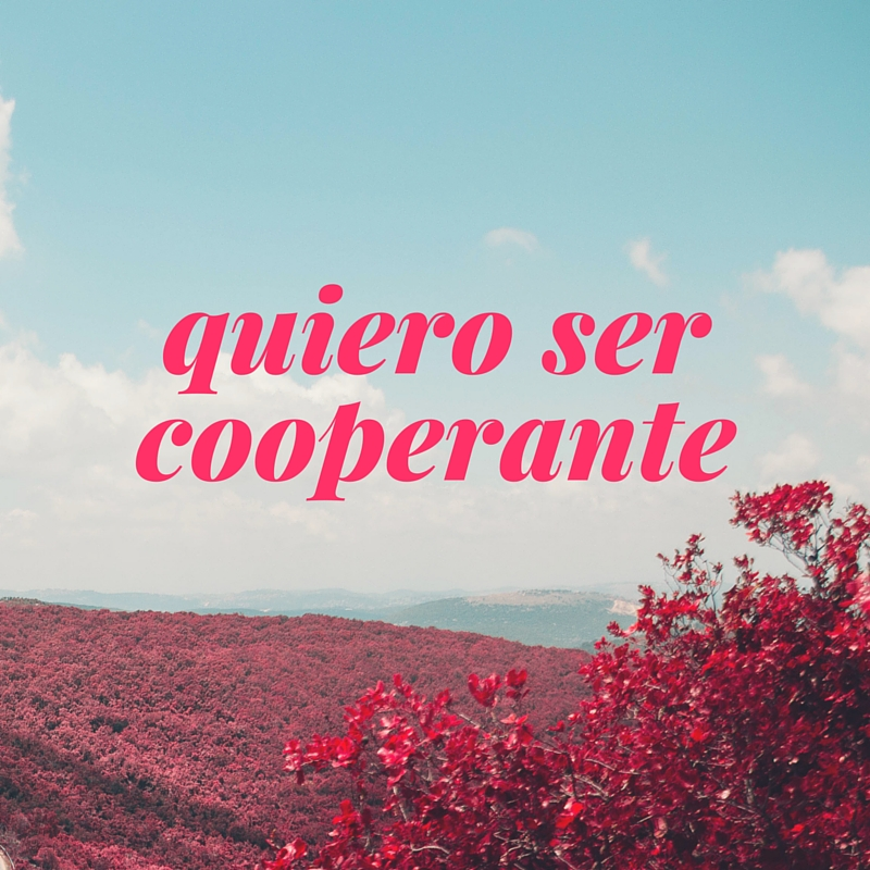 quiero ser cooperante