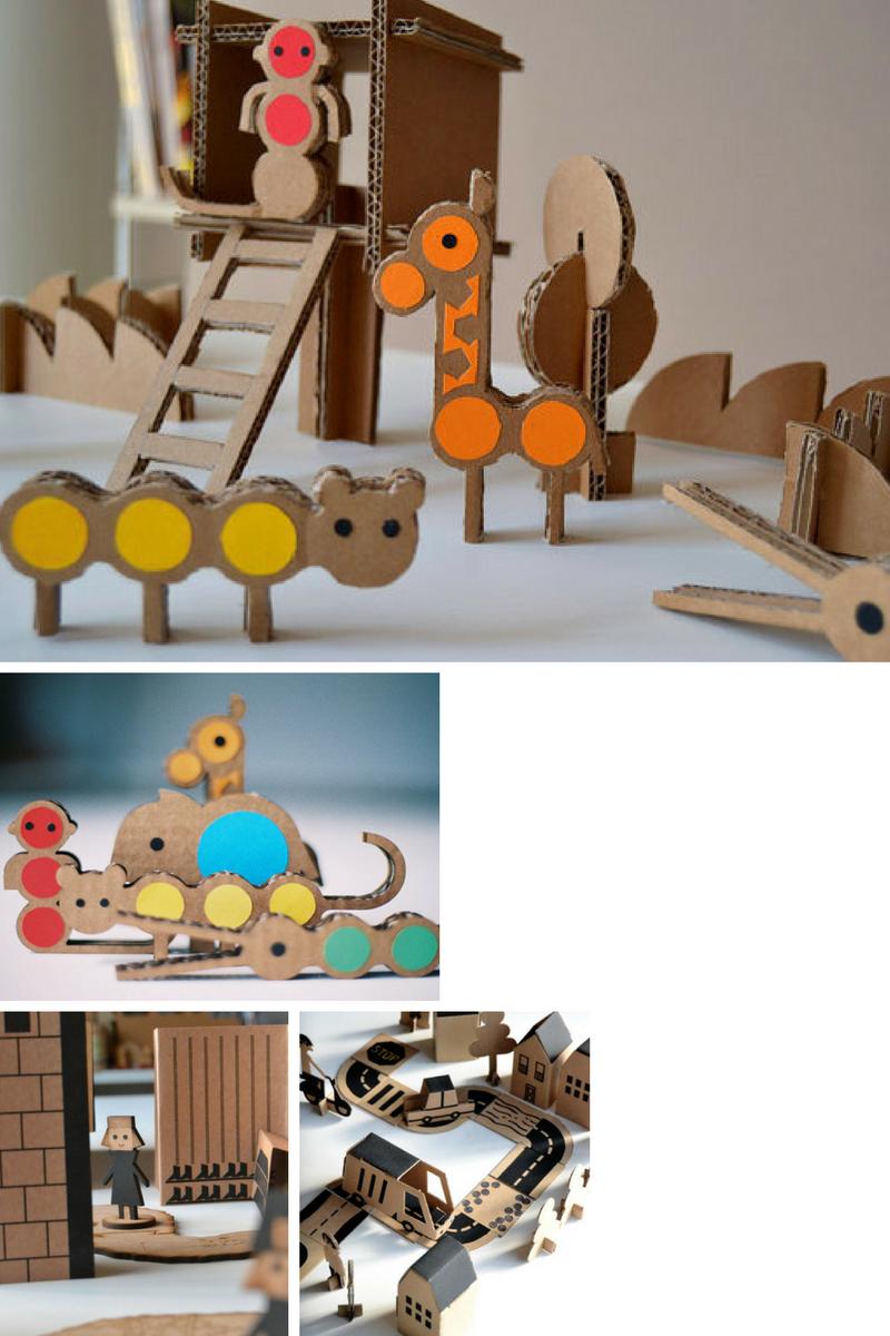 juguetes de carton