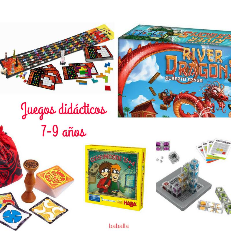 juegos didácticos 7 -9 años