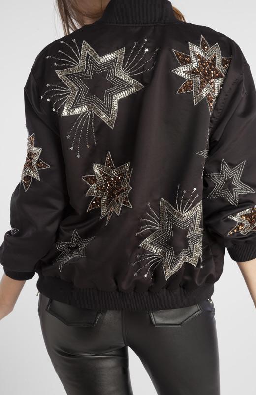 chaquetas para otoño bomber estrellas