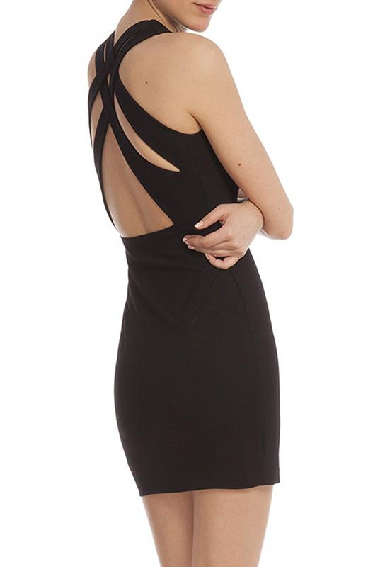 looks de noche bdba mini vestido negro