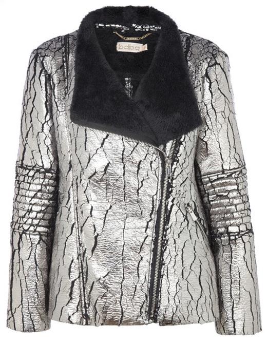 ropa metalizada chaqueta rockera de bdba