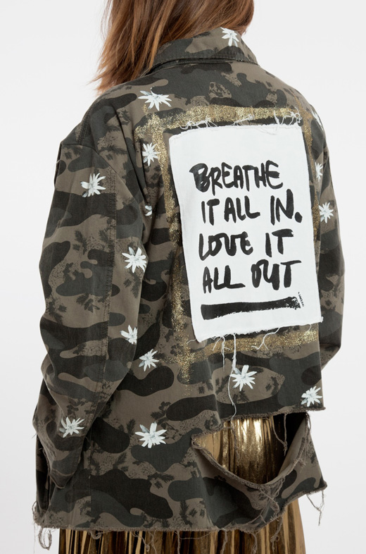 ropa nueva de bdba chaqueta militar