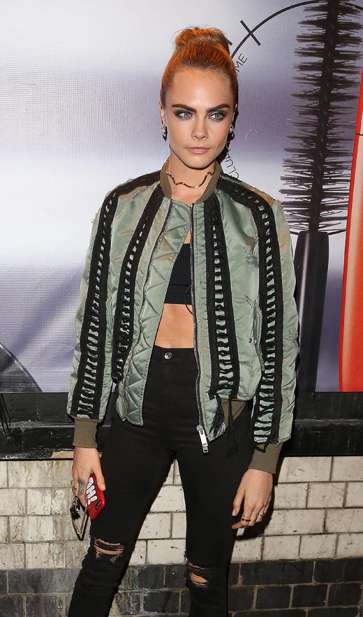 estilo de las celebrities con bdba : Cara Delevigne look