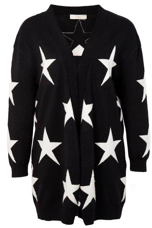 Jersey o chaqueta de punto de BDBA. Chaqueta de estrellas
