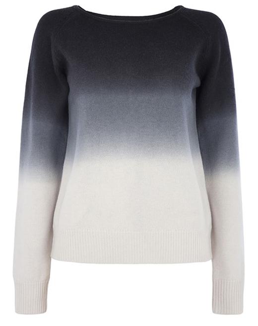 Jersey o chaqueta de punto con BDBA. Jersey degradado