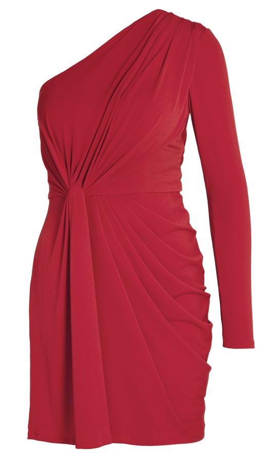 vestdios de fiesta. Pon color a la Navidad con este vestido rojo de BDBA