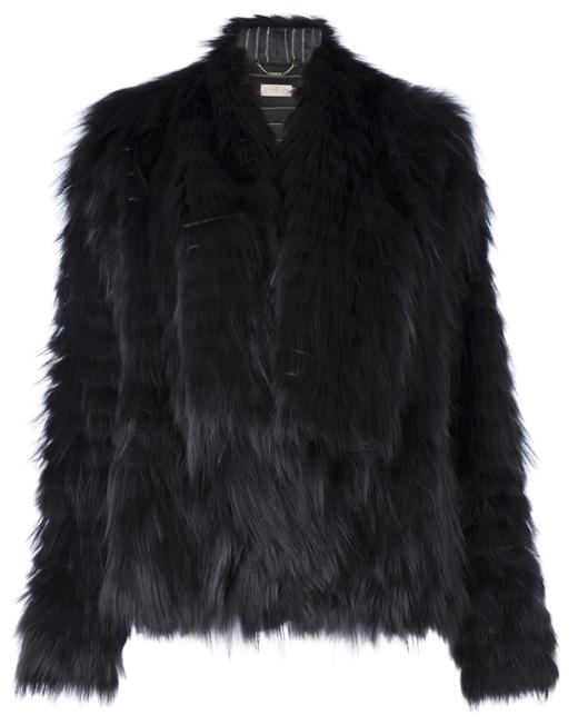 abrigo de pelo con BDBA. Estilo Kim Kardashian. Corte chaqueta