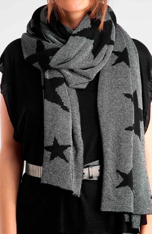 accesorios de moda para el frío en BDBA. Bufanda estampada