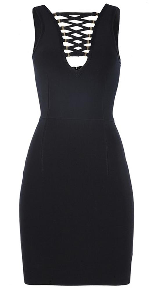 ropa original con BDBA. Vestido negro