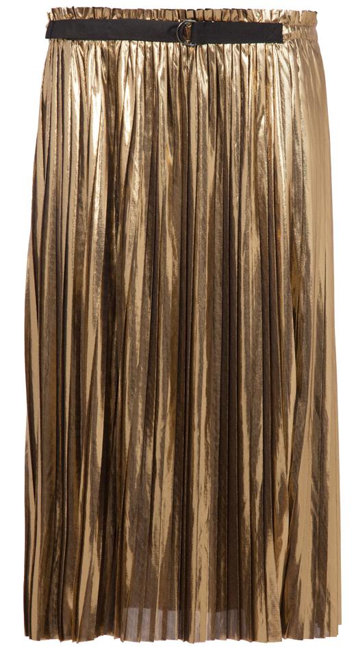 faldas metalizadas. dorada BDBA