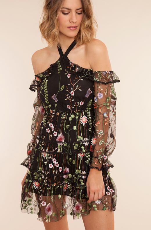 vestido de BDBA de Grace Villarreal
