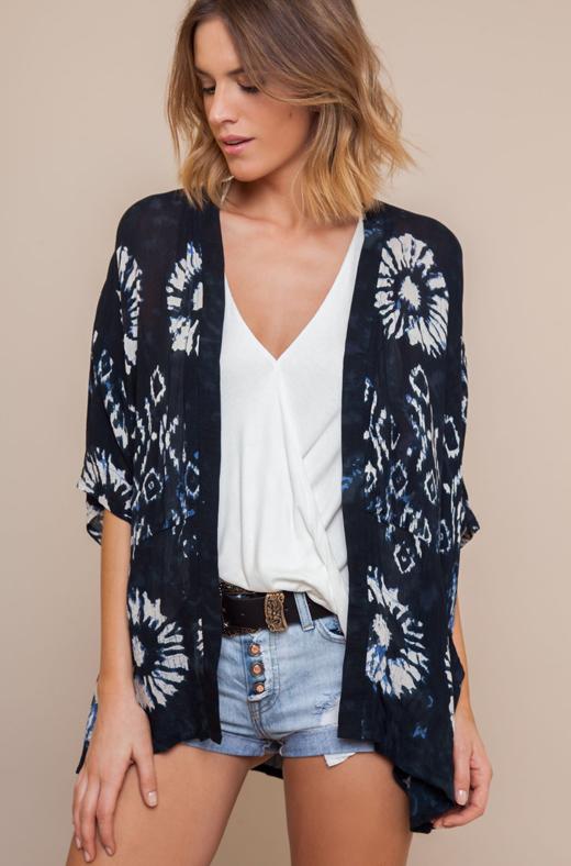 kimonos de bdba. Tie dye
