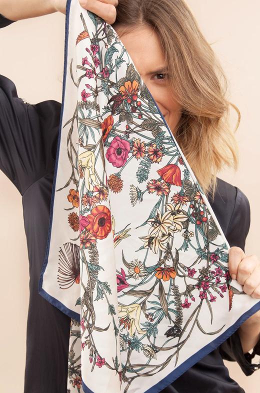 tendencia pañuelos BDBA flores